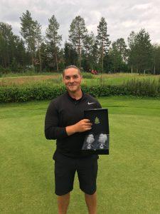 Anders Eriksson, klubbmästare i herrklassen.